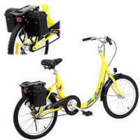 CSW Energy ETC New Century Express Electric Bike Yellow